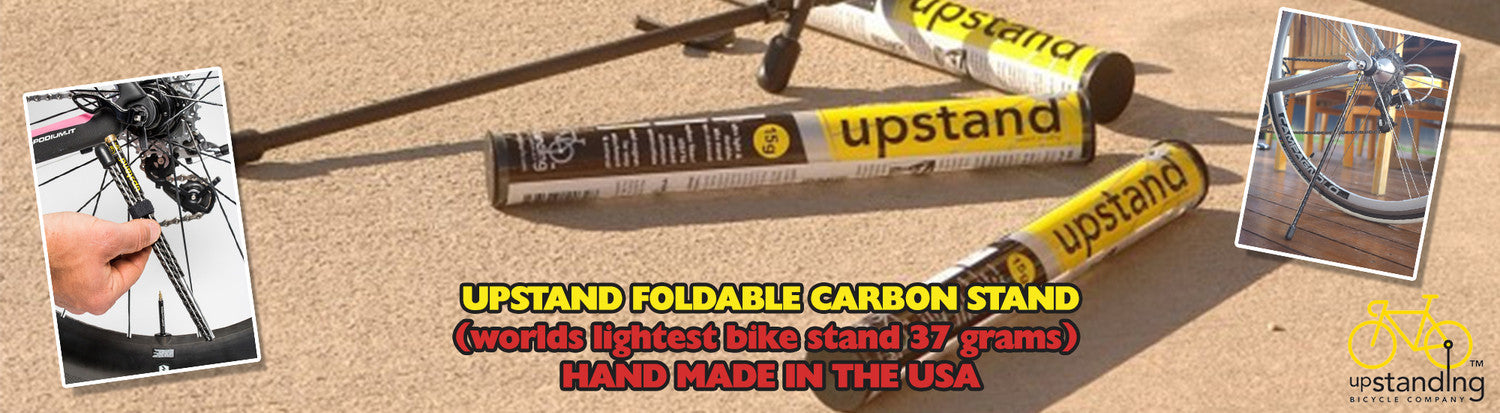 The Upstand - Carbon Fiber Portable Bike Stand