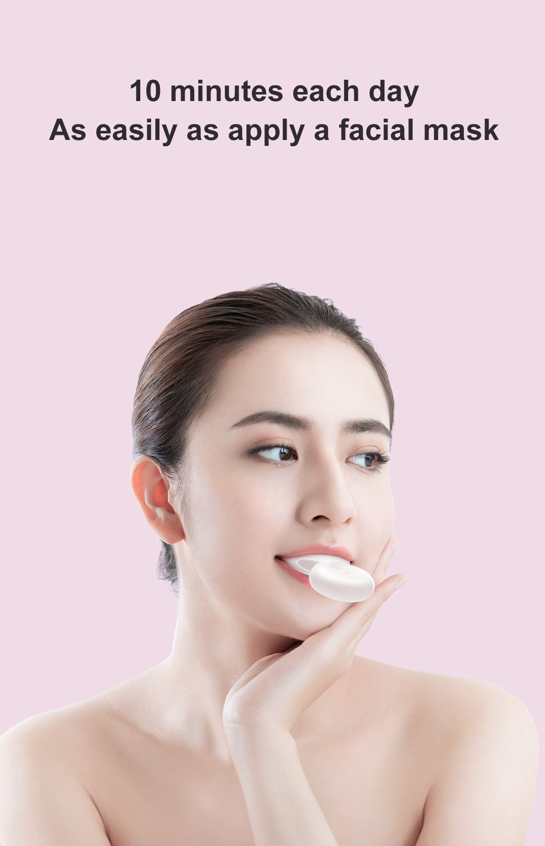 DR.BEI W7 Dental Whitening Kit Xiaomi Youpin DR.BEI W7 Dental Teeth Whitening Equipment Sonic Acoustic Oral Care Beautifier IPX7 Waterproof Tooth Whitening Cleaning Tools
