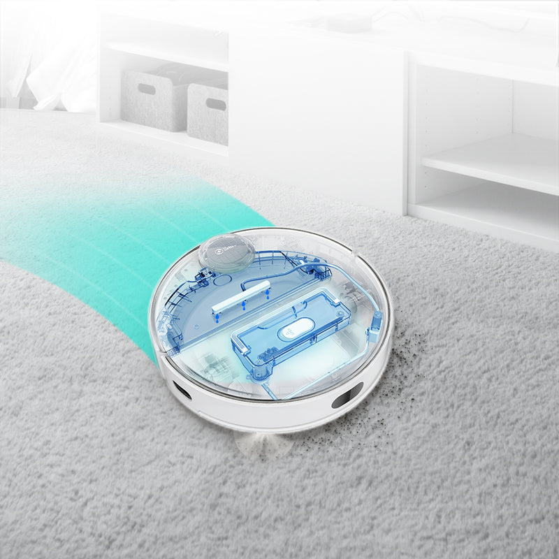 [NEW] 360 S9 Robot Vacuum Cleaner with Intelligent Water Tank [Wistech Home] - Electronic accessories - Wistech Singapore