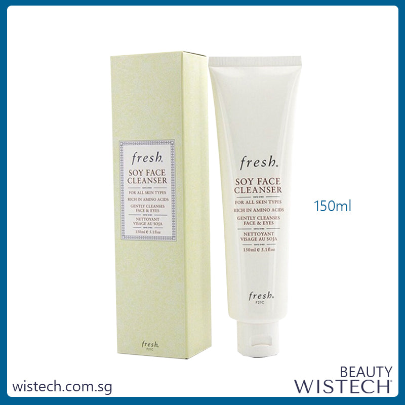 Fresh Soy Face Cleanser 150ml -  - Wistech Singapore