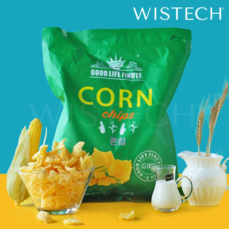 Good Life Finute Corn Chips 386g GIANT SIZE Wistech [Korean Snack] -  - Wistech Singapore