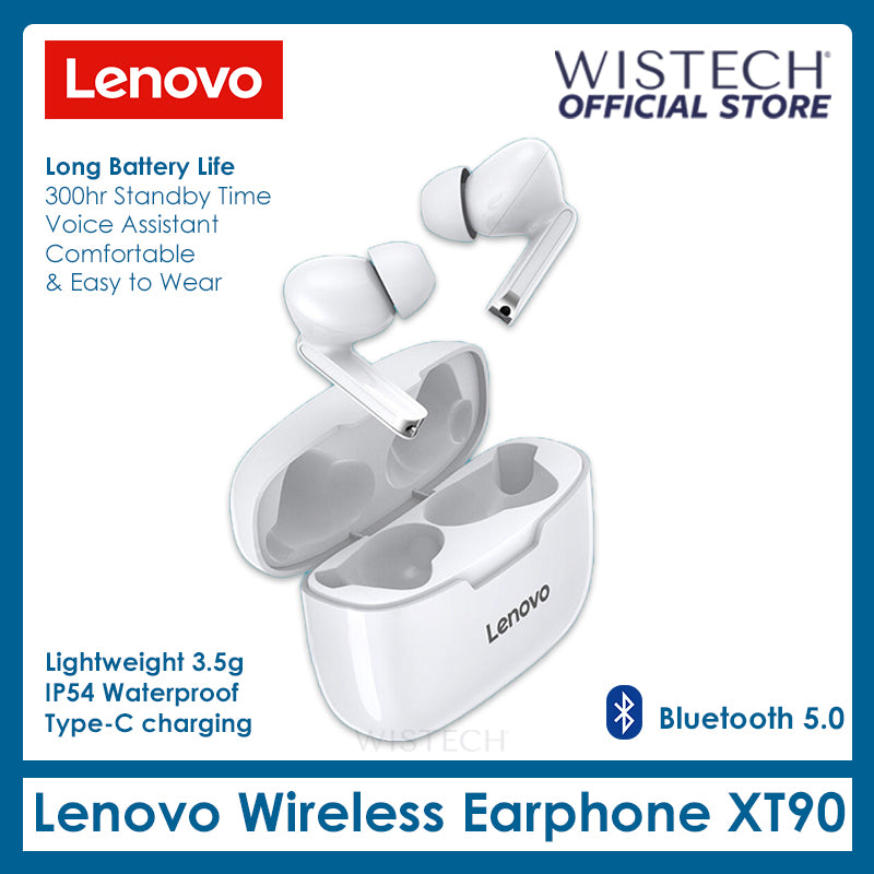 Lenovo XT90 Wireless Earbuds - Electronic accessories - Wistech Singapore