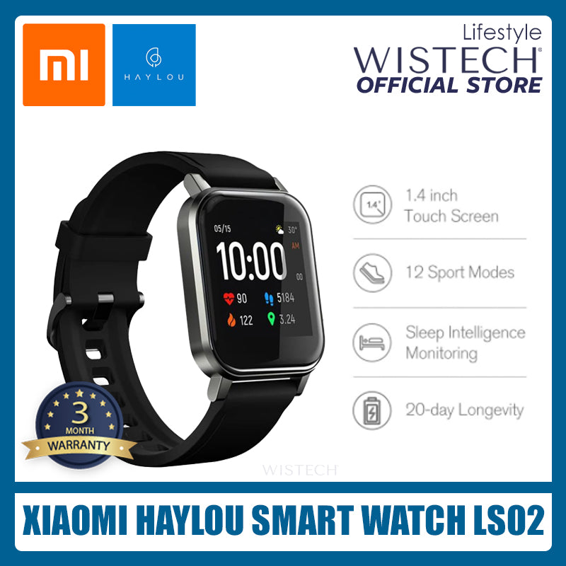 [Global Version] Xiaomi Haylou LS02 Smart Watch - Electronic accessories - Wistech Singapore