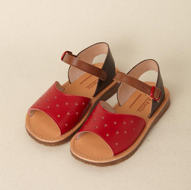 POPPY SANDAL RED