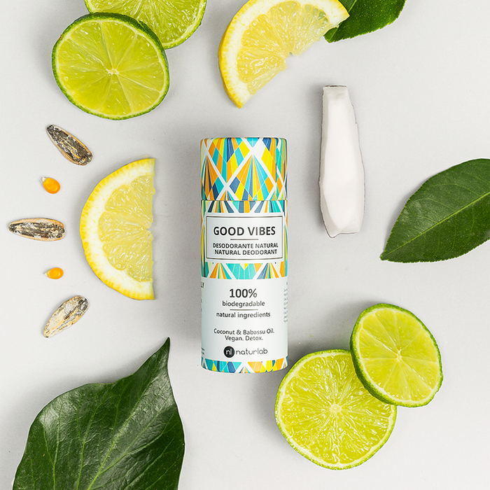 DESODORANTE NATURAL GOOD VIBES - GOOD VIBES NATURAL DEODORANT