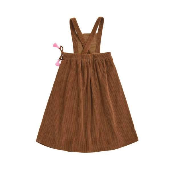DRESS ARELY CAMEL