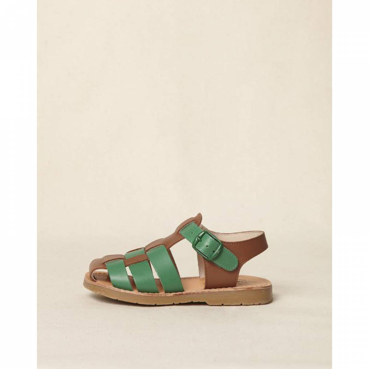 PIKE SANDAL GREEN