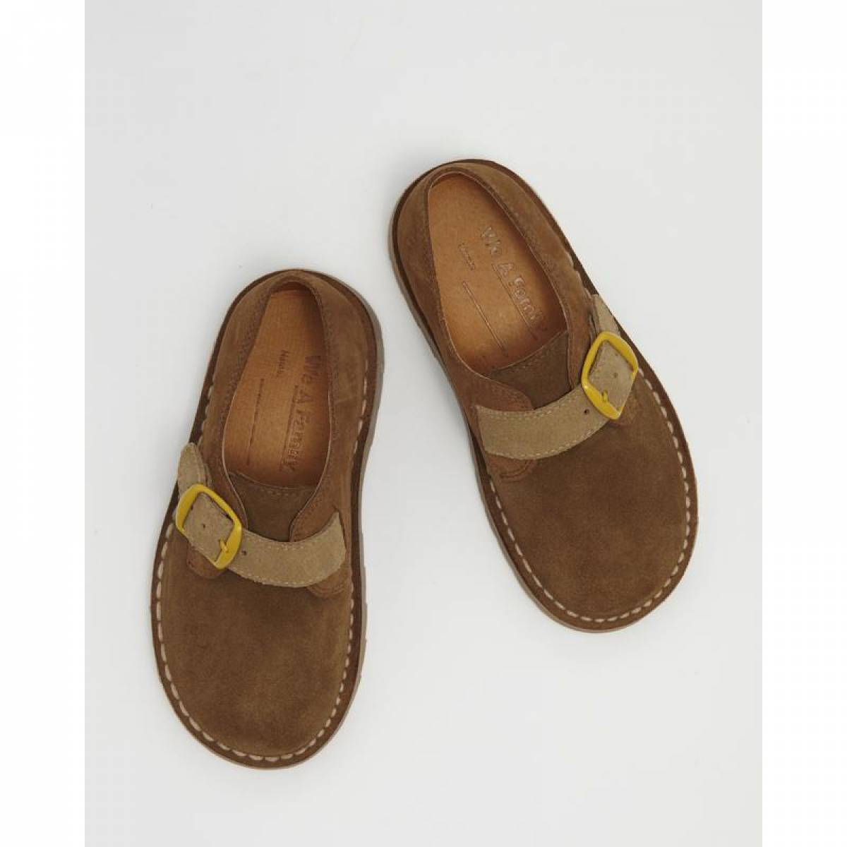WILLOW BUCKLE SHOE TOBACCO