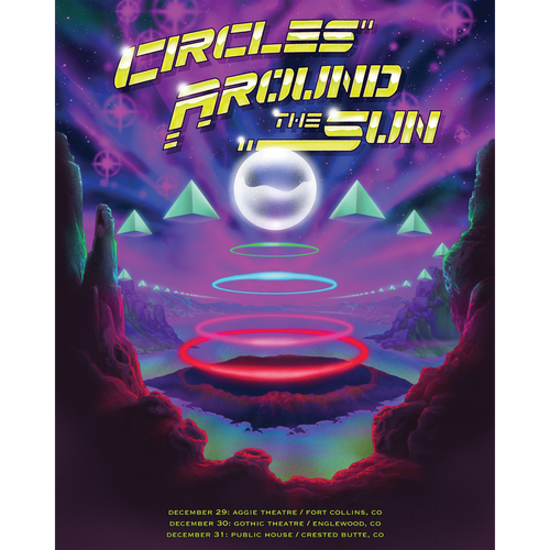 Colorado 2019 Tour Poster
