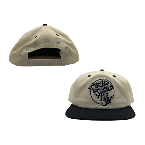 Logo Moon Phases Snapback - Natural / Black