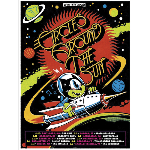 <i>Signed</i> East Coast 2020 Winter Tour Poster