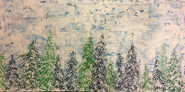 """In the Bleak Midwinter"" 24x48"