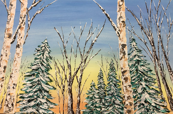 """Winter Wonderland"" 24x36"