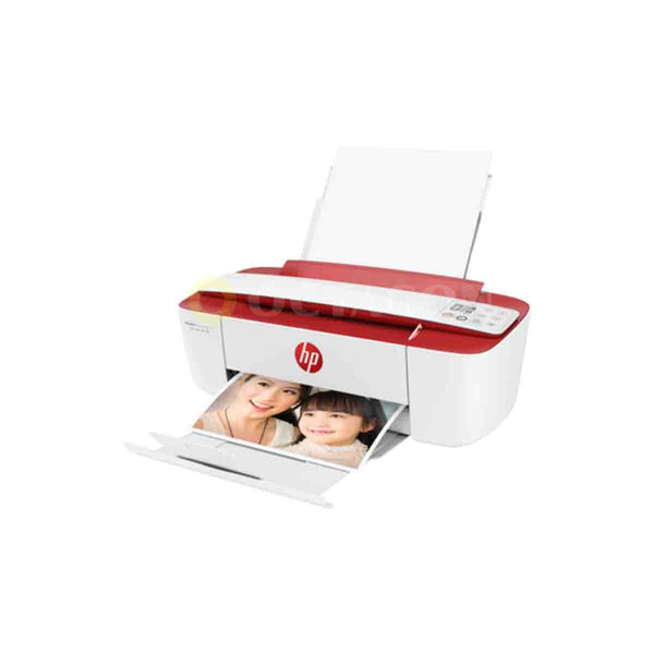 HP DESKJET INK ADVANTAGE 3777 AIO WIRELESS PRINTER - CARDINAL RED (#680 BK/CLR)