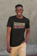 Load image into Gallery viewer, Good Vibes Tee (Black)