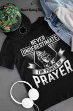 Load image into Gallery viewer, The Power of Prayer Tee (Black)
