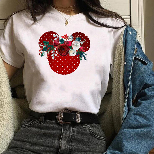 Mickey funny fashion T-shirt