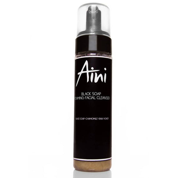 Aini Organix Black Soap Foaming Facial Cleanser