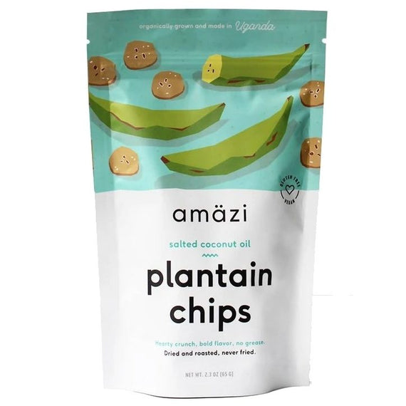 Amazi Salted Coconut Oil Plantain Chips