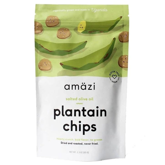Amazi Salted Olive Oil Plantain Chips
