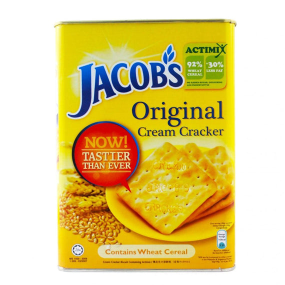 Jacob's Cream Crackers Tin