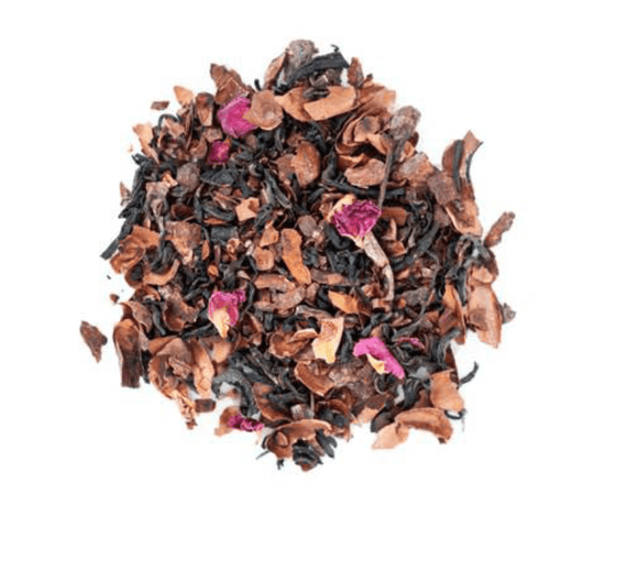 JusTea Purple Chocolate Loose Leaf Tea