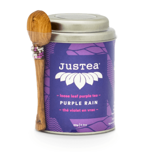 JusTea Purple Rain Loose Leaf Tea