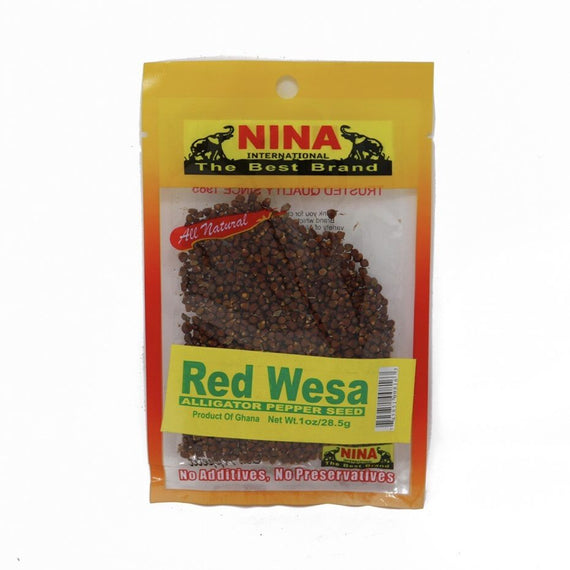 Nina Red Wesa – Alligator Pepper Seed