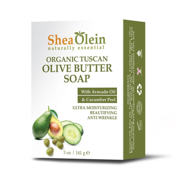 Shea Olein Organic Tuscan Olive Butter Soap
