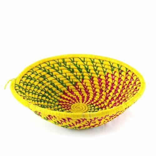 Yellow African Fruit Basket