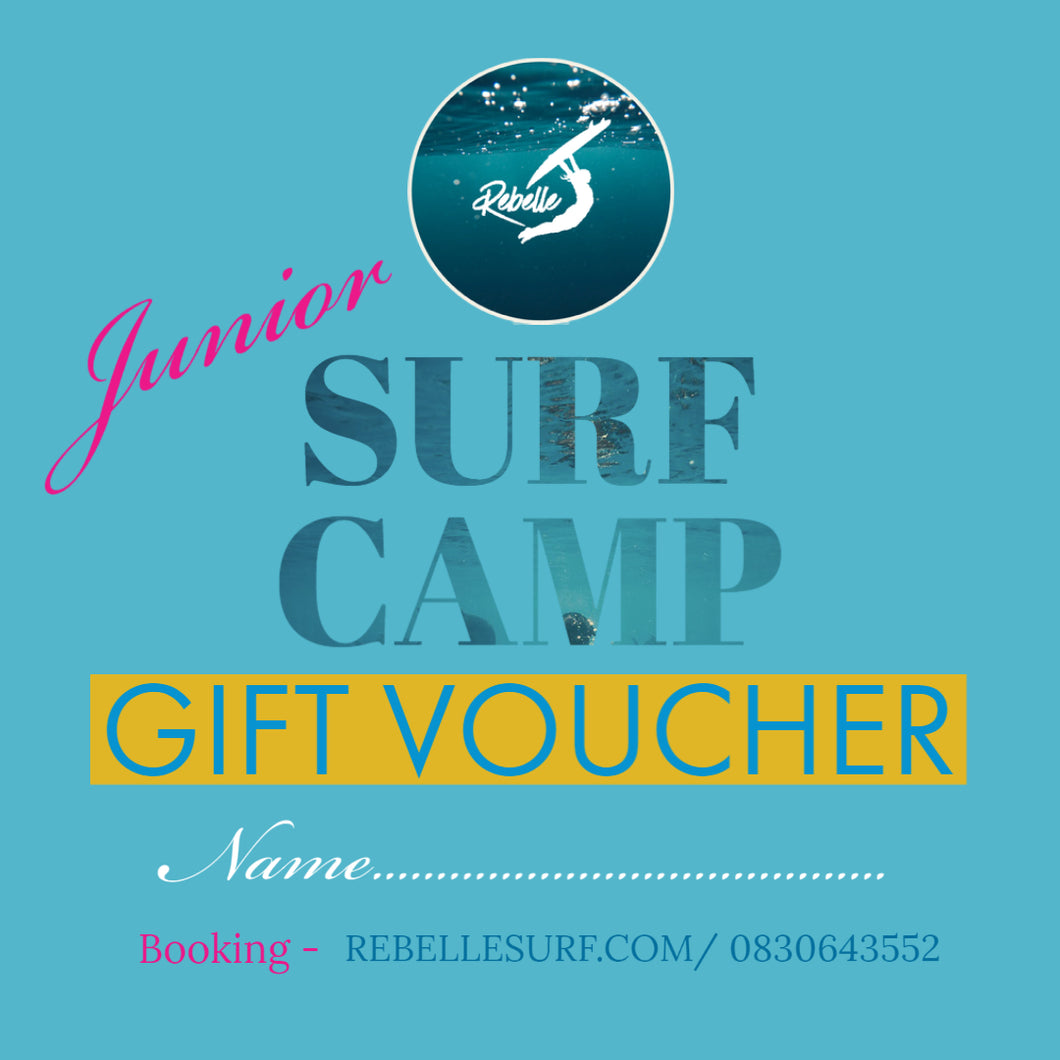Gift Voucher Kids Surf Camp
