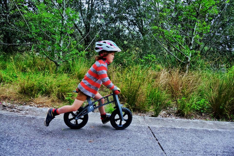 First Bike Balance Bike at Glow Worm Bicycles Family Rides