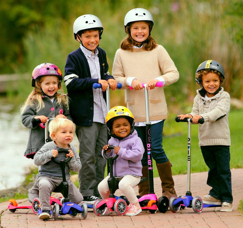 Micro Scooters for Kids and Adults at Glow Worm Bicycles in Sydney