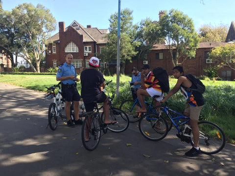 NSW Police harass bicycle riders in Sydney