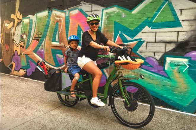 eZee Expedir Alfine Longtail Cargo Bicycle at Glow Worm in Sydney