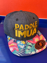 Load image into Gallery viewer, Paddle Imua Trucker Hat w/ embroidered logo