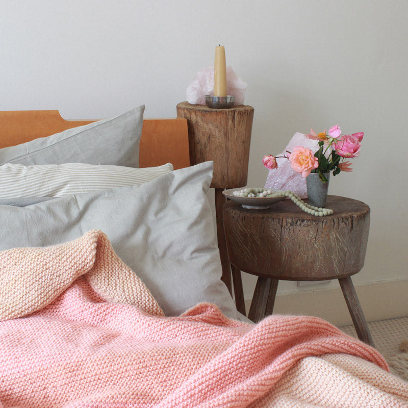 Naturally Dyed Blankets & Throws