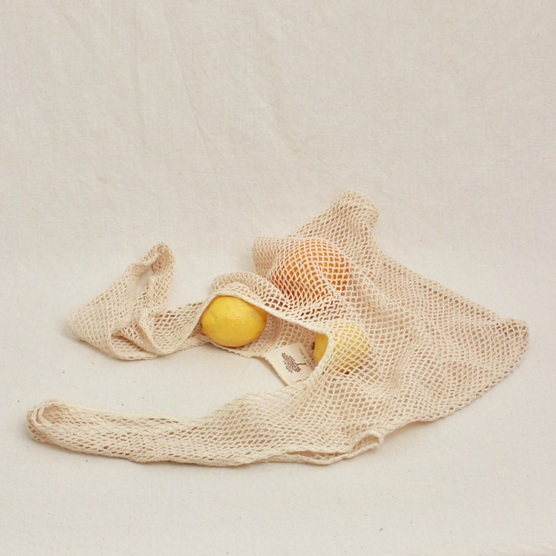 Net Bags & Mesh Pouches - Plant Dyed, Zero-Waste, Plastic-free Shopping