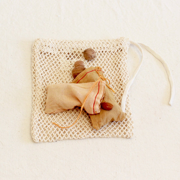 Organic cotton refill pouches - set of 5