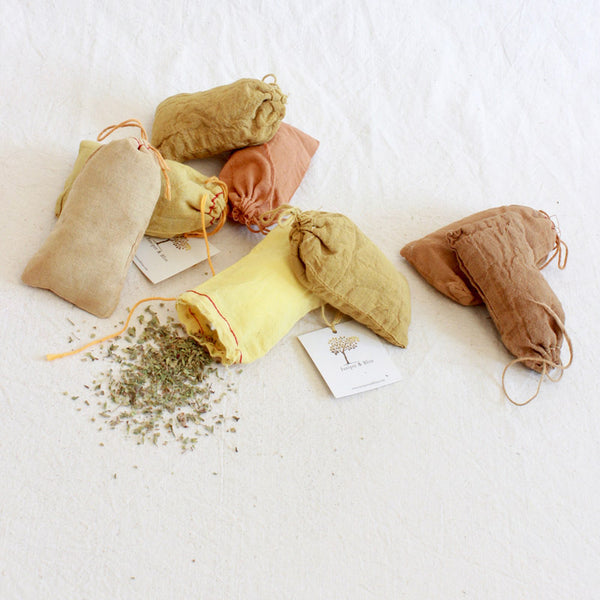 Wild Oregano Herb Pouches - Juniper & Bliss