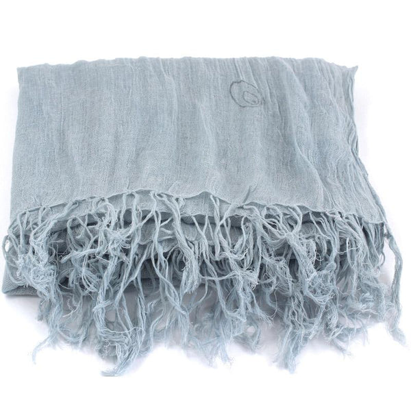 Kani Organic Cotton Shawls - Indigo Sky - Juniper & Bliss