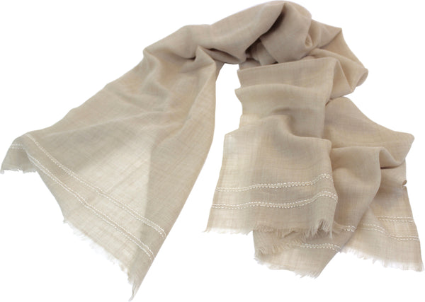 Shadow Shawls- Taupe - Juniper & Bliss