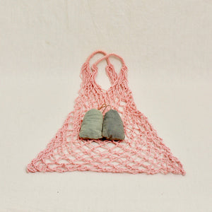 Naturally Dyed Eco-Friendly Fisherman's Net Bags - Juniper & Bliss