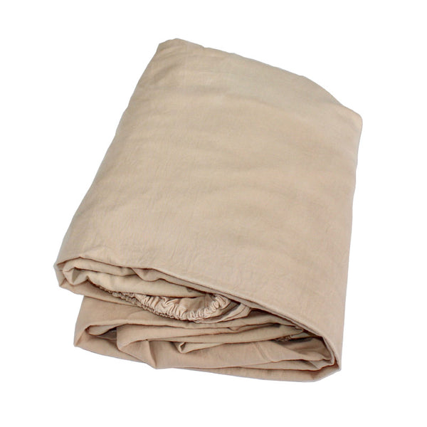 Bliss Bedding - Fitted Sheet in Sandalwood