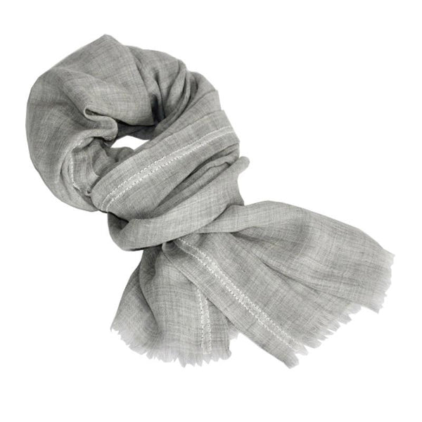 Shadow Shawls - Grey - Juniper & Bliss