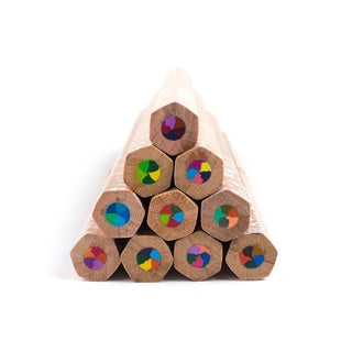 Kaleidoscope Multi-Colored Pencils - Set of 10
