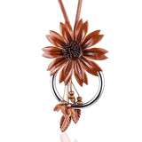 Collier fantaisie orange - Bijoux-Fantaisie.shop