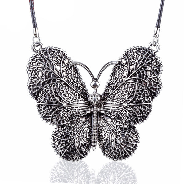 Collier fantaisie papillon - Bijoux-Fantaisie.shop