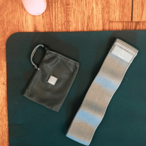 Hip, Glute and Booty Band, Heavy Resistance (Grey) - nadora.co