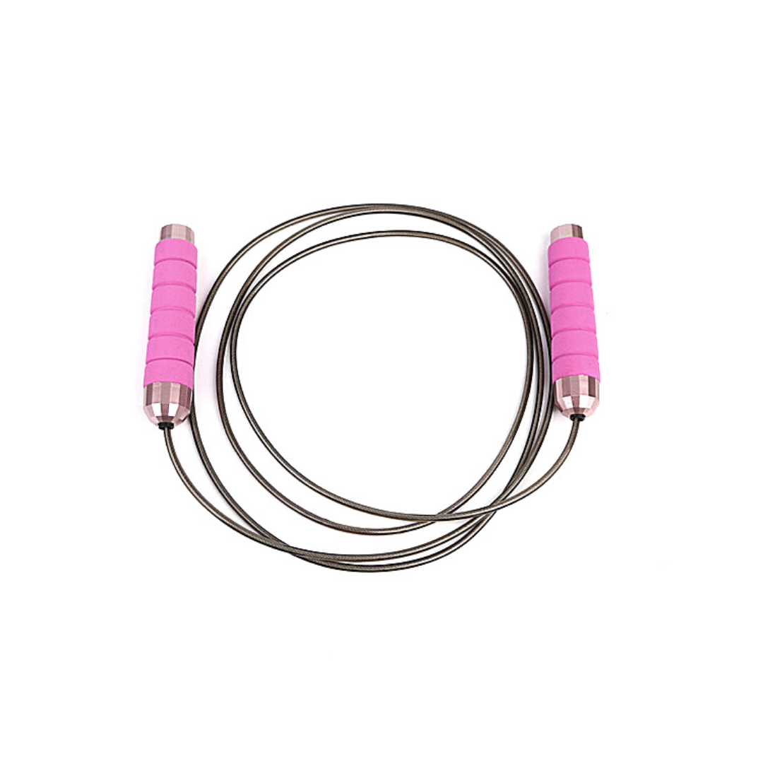 Nadora Weighted Jump Rope (Pink)